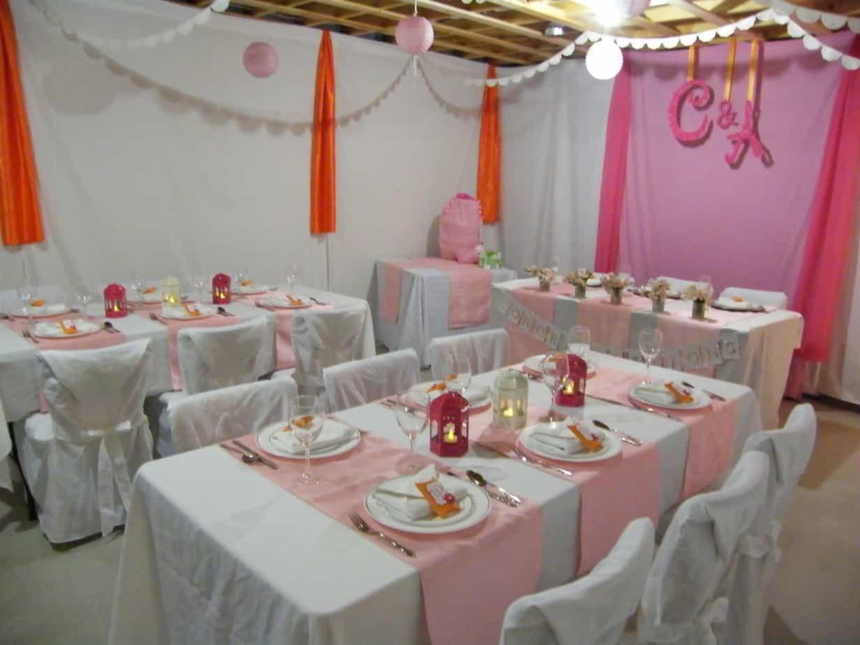Wedding Shower Basement Makeover Fynes Designs Fynes