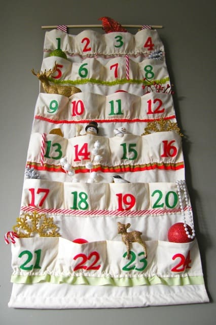 Sewn Advent Calendar Ideas : Advent time is nearly here fynes designs