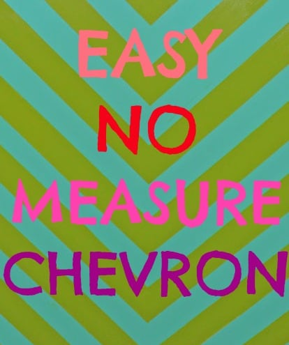 Easy no measure chevron pattern fynes designs fynes for How to make a chevron template