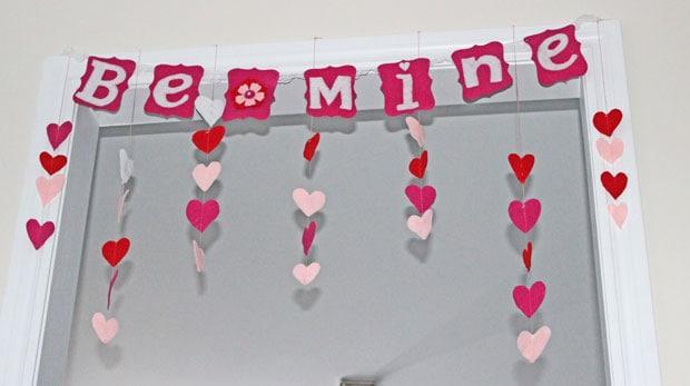 5 sweet valentine decor ideas