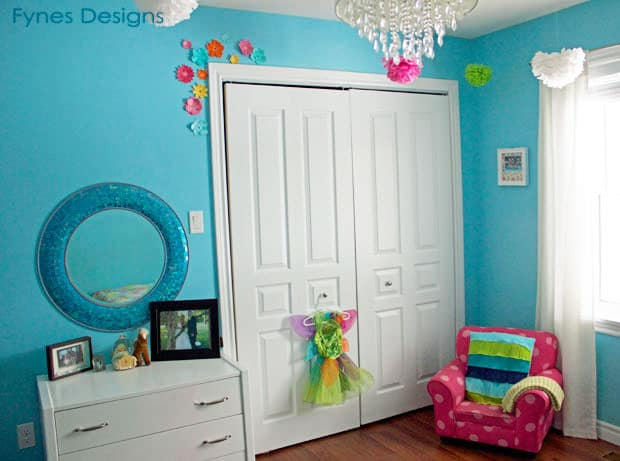 Sweet Little Girl\'s Bedroom Reveal- From the Fynes House   FYNES ...