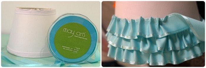 Diy ribbon lamp shade for light it up blue fynes designs fynes diy ribbon lamp shade for light it up blue aloadofball Choice Image