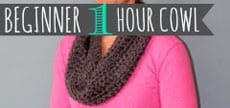 Beginner 1 Hour Cowl Tutorial