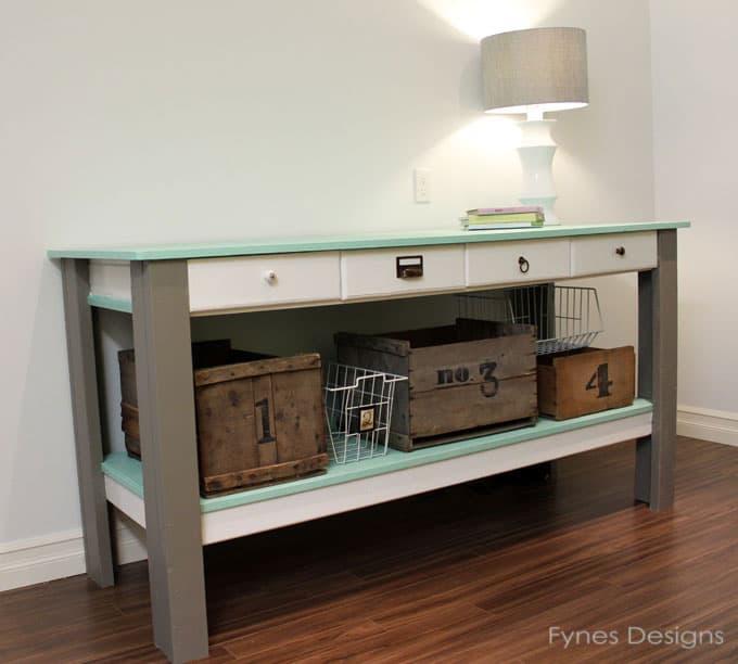 Craft Room Workbench Fynes Designs