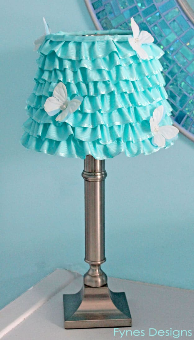 Light Blue Lamp Shades Home