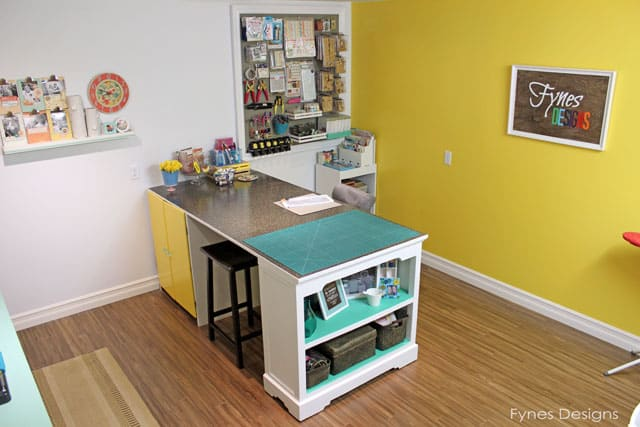 Craft Room Reveal FYNES DESIGNS FYNES DESIGNS