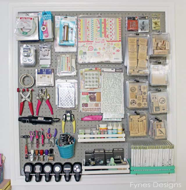 I Love My Frugal Memo Board , I Can Poke, Magnet Or Clip Just About  Anything To It! The Killer Craft Room Workbench Has Great Storage, Itu0027s So  Functional.