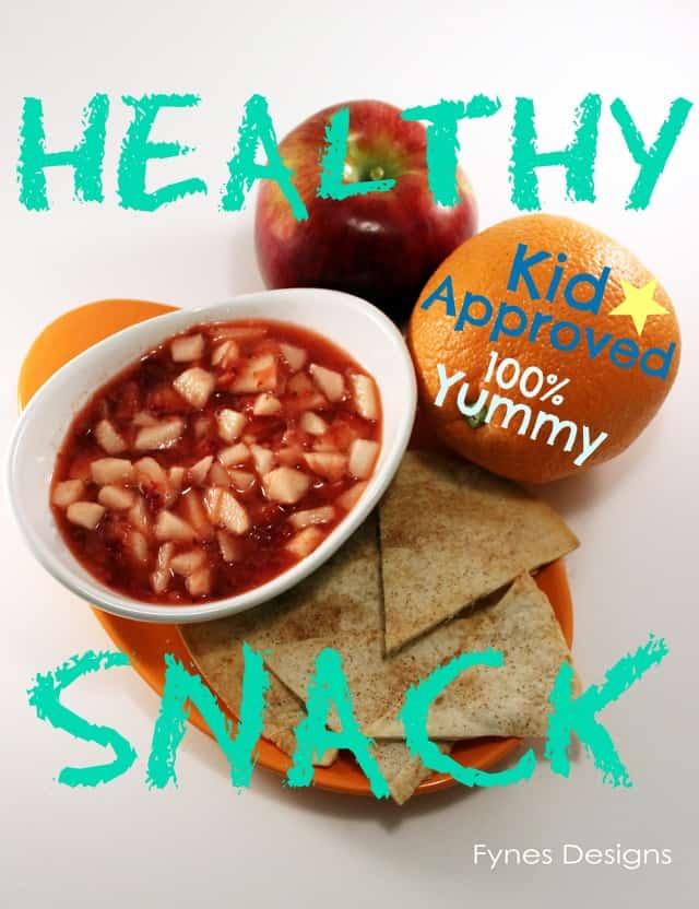 Fruit Salsa Kid Snack - FYNES DESIGNS | FYNES DESIGNS