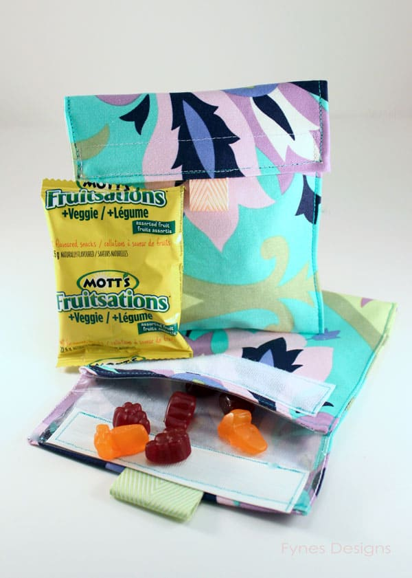 Make Me Reusable Snack Bag Fynes Designs