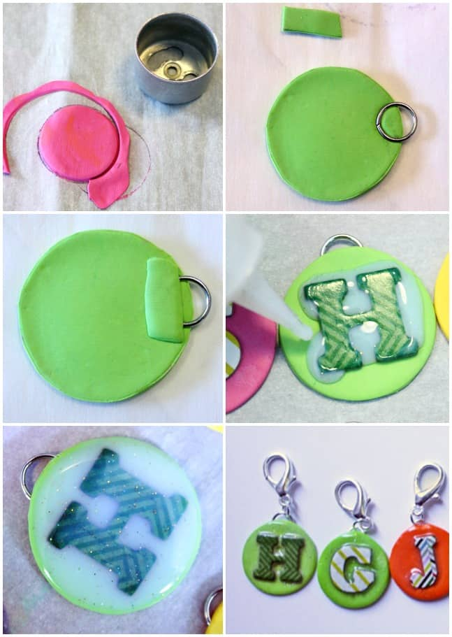 Kids diy clay initial jewelry fynes designs fynes designs here is what youll need to create these clay accessories necklace supplies aloadofball Choice Image
