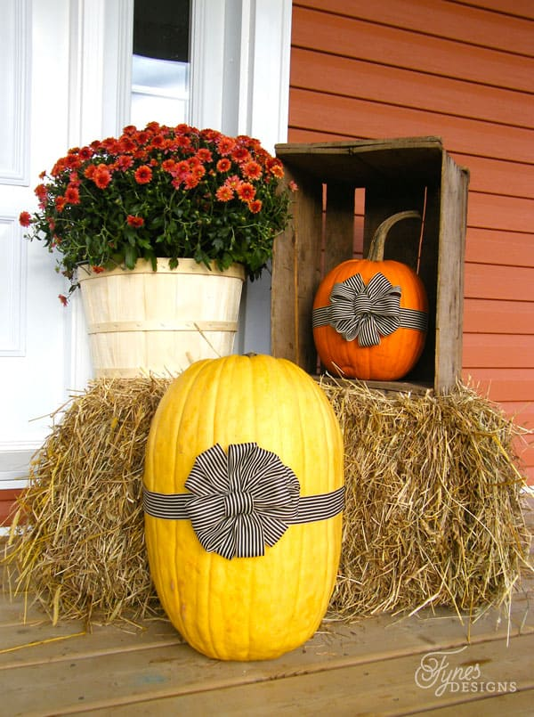 Spruce Up Your Pumpkin | Top Curb Appeal Ideas For Your Home This Fall