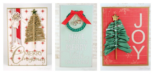 ribbonista christmas card ideas a simple skewer tree fynes designs fynes designs. Black Bedroom Furniture Sets. Home Design Ideas