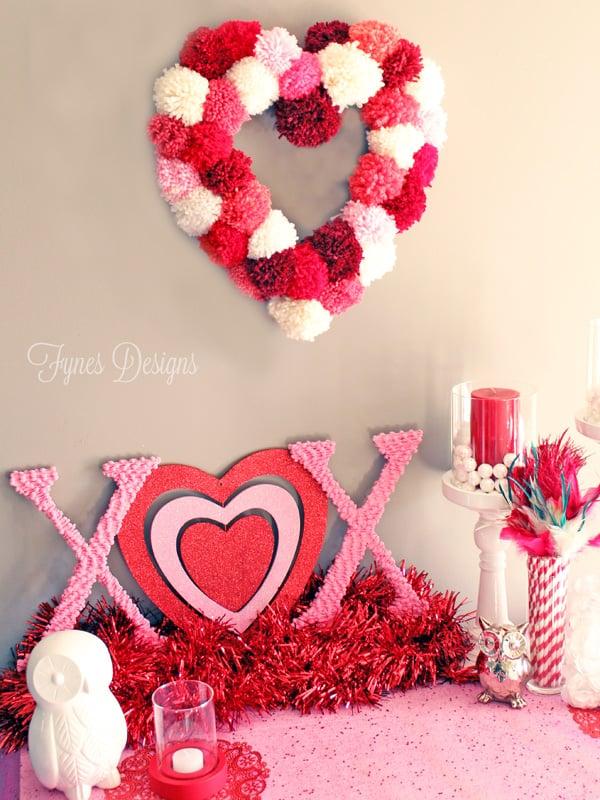 How To Make a Heart Shaped Wreath Form - FYNES DESIGNS | FYNES DESIGNS