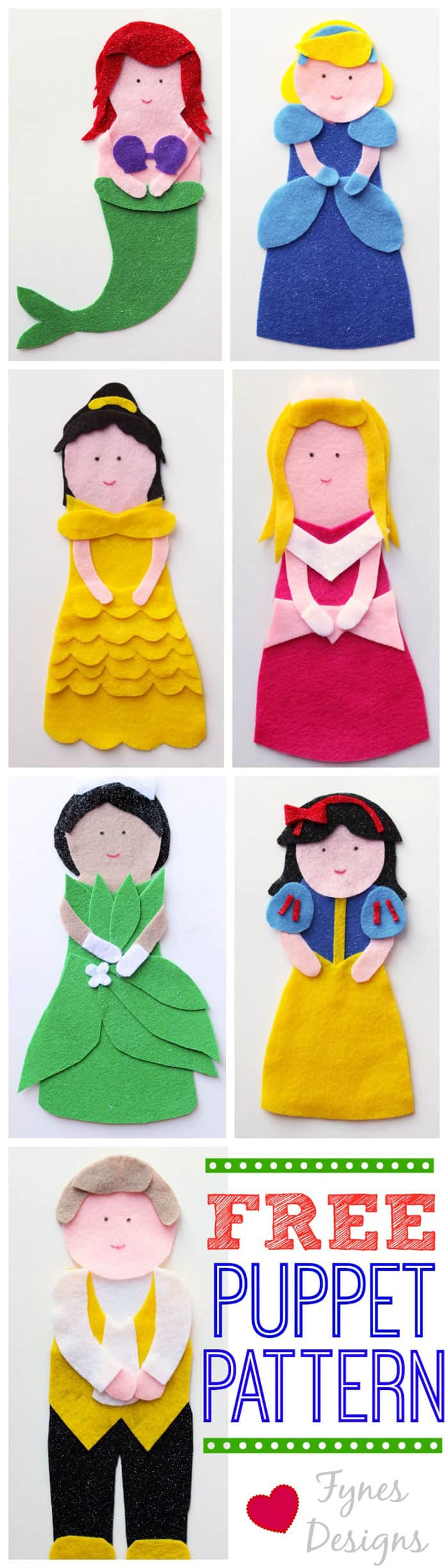 These Disney Princess Puppets