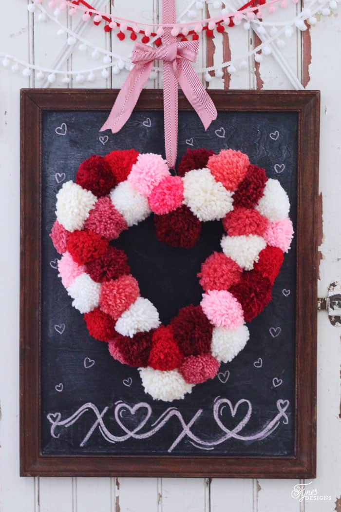 How To Make A Heart Shaped Wreath Form Fynes Designs