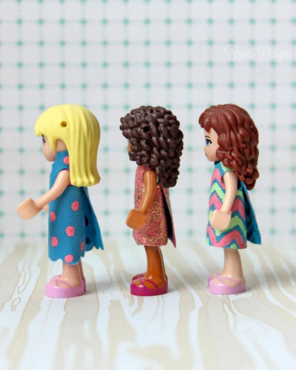 Lego Friends get a new wardrobe