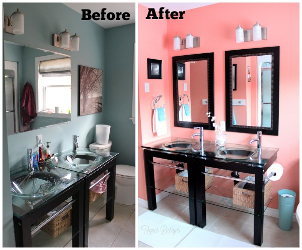 A Must See Bathroom Makeover FYNES DESIGNS FYNES DESIGNS - Bathroom colors home depot