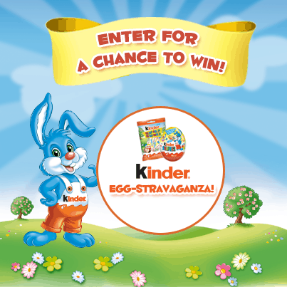 Enter to WIN a Kinder Easter gift basket