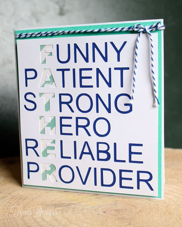 father s day gift or father s day card you choose fynes designs