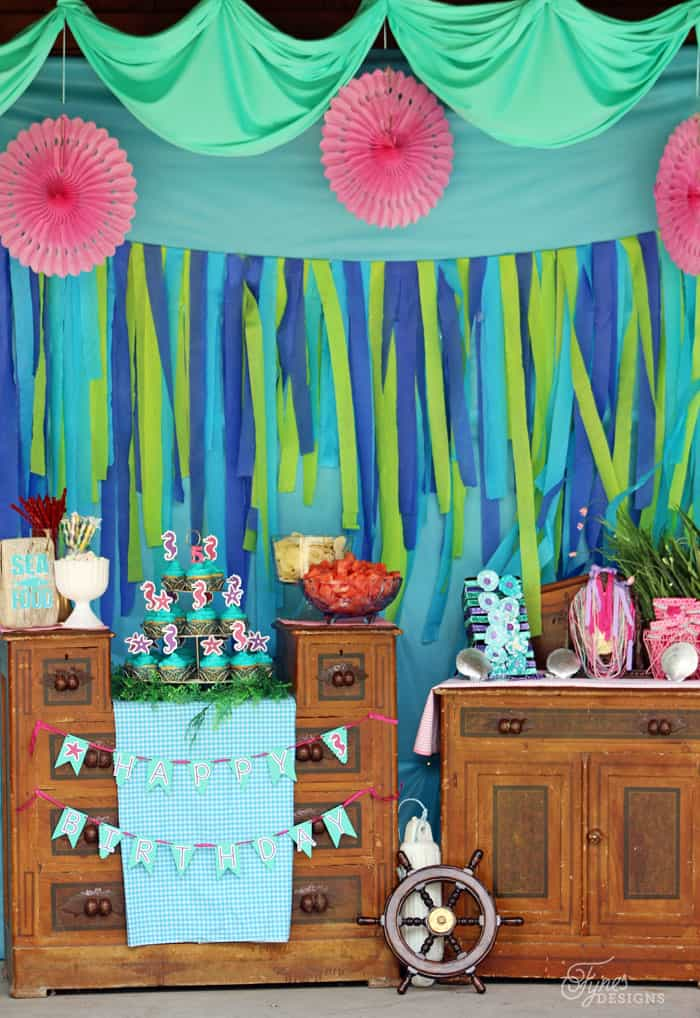 Swim Over To Our Mermaid Party