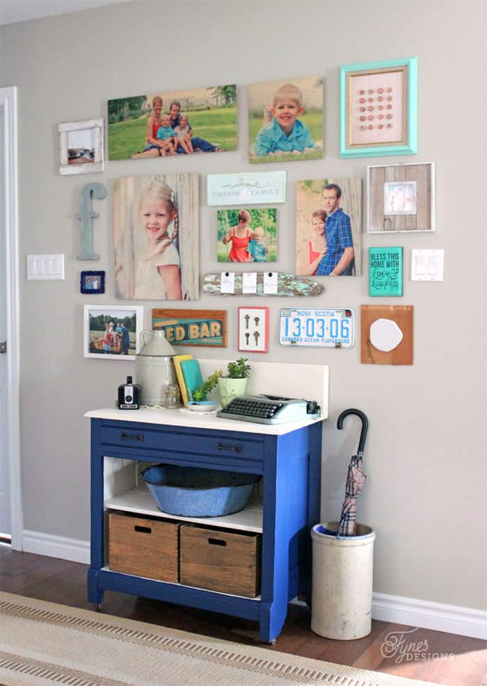 Make An Easy Gallery Wall With Shutterfly Design A Wall