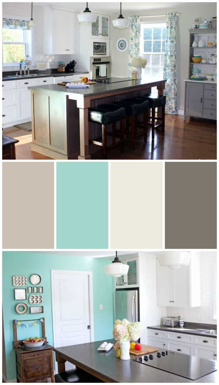 Extend great room to outer wall bdrm 2 becomes extra for Modern kitchen wall color ideas