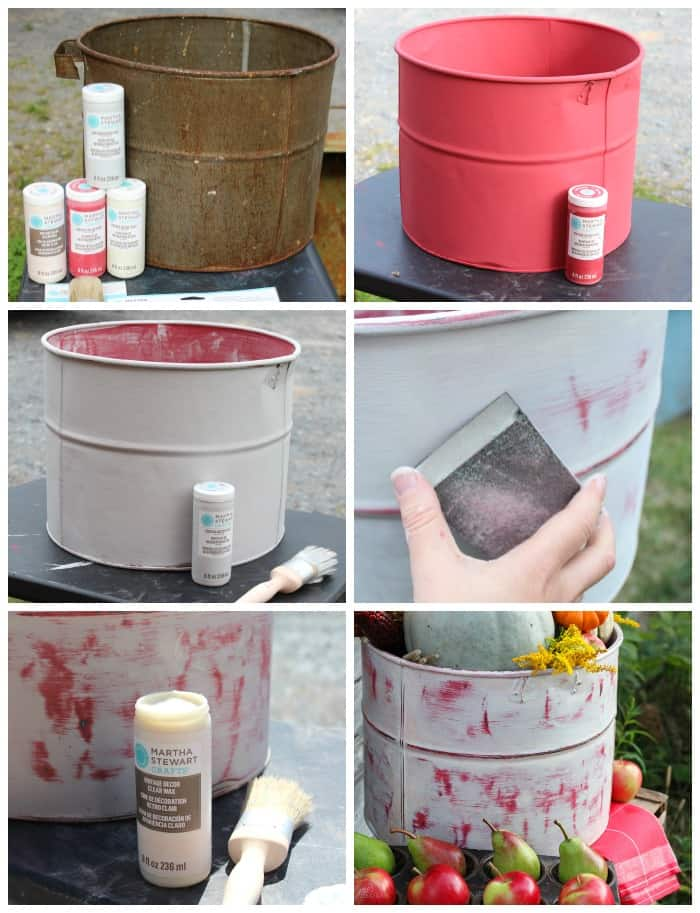 This Paint Can Be Used On A Variety Of Surfaces I Was Eager To Try It Metal But Wood Gl And Fabric