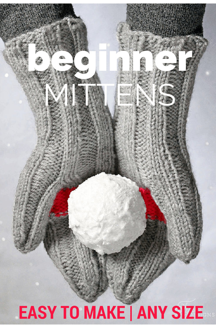 Cactus Mittens- Free Knitting Pattern for Beginners - FYNES DESIGNS ...