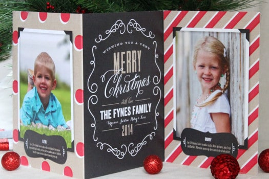 Perfectly Personal™ photo Christmas cards