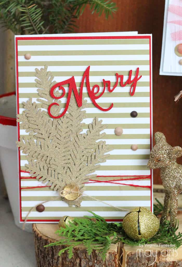 Red and Gold Christmas Card Ideas - FYNES DESIGNS | FYNES DESIGNS