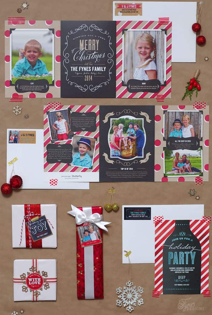 Perfectly Personal™ Christmas Cards | FYNES DESIGNS