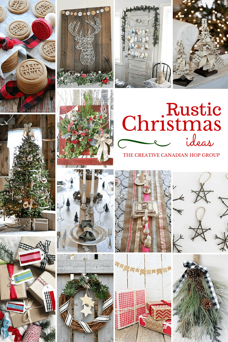 have yourself a very rustic christmas fynes designs fynes designs - Rustic Christmas Decor