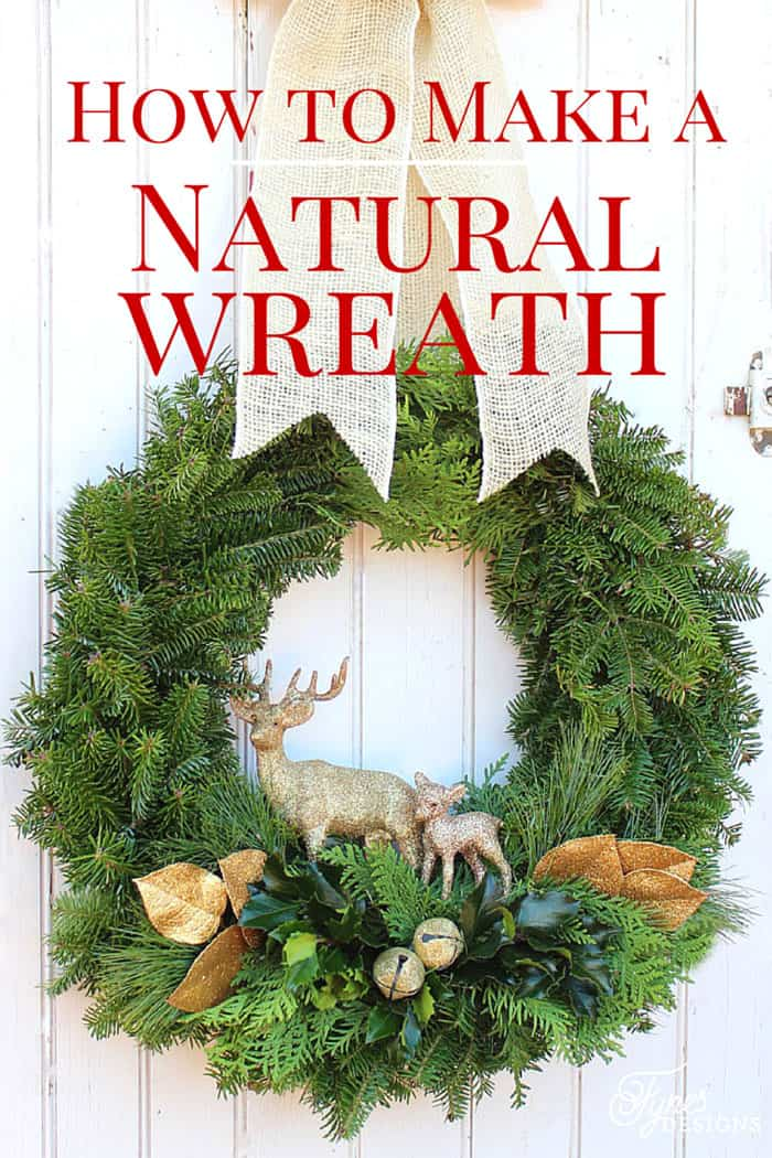 how to make a traditional christmas wreath - How To Make A Christmas Wreath