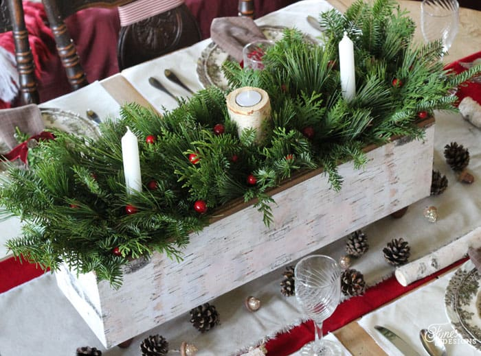 christmas table centerpieces table centrepiece one item challenge fynes 12291