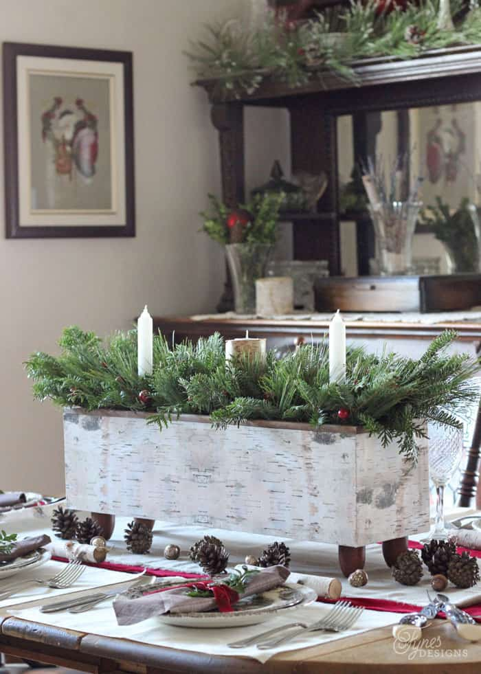 Christmas Table Centrepiece- One Item Challenge   FYNES ...