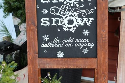 Free Silhouette Christmas Cut file