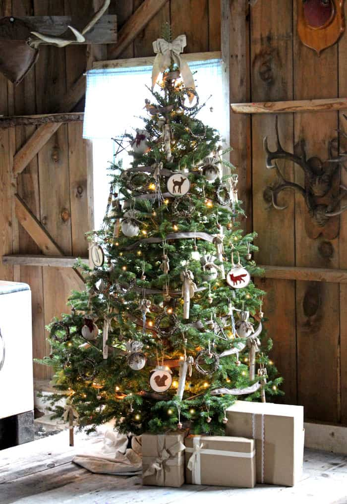 fynes designs - Rustic Christmas Ornaments