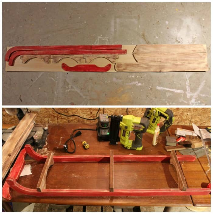 10 Diy Wooden Sled Tutorial Woodworking Fynes Designs