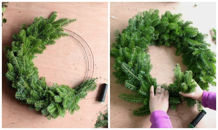 Repeat These Steps Adding Bunch By Until You Reach Back Where Began The Wreath