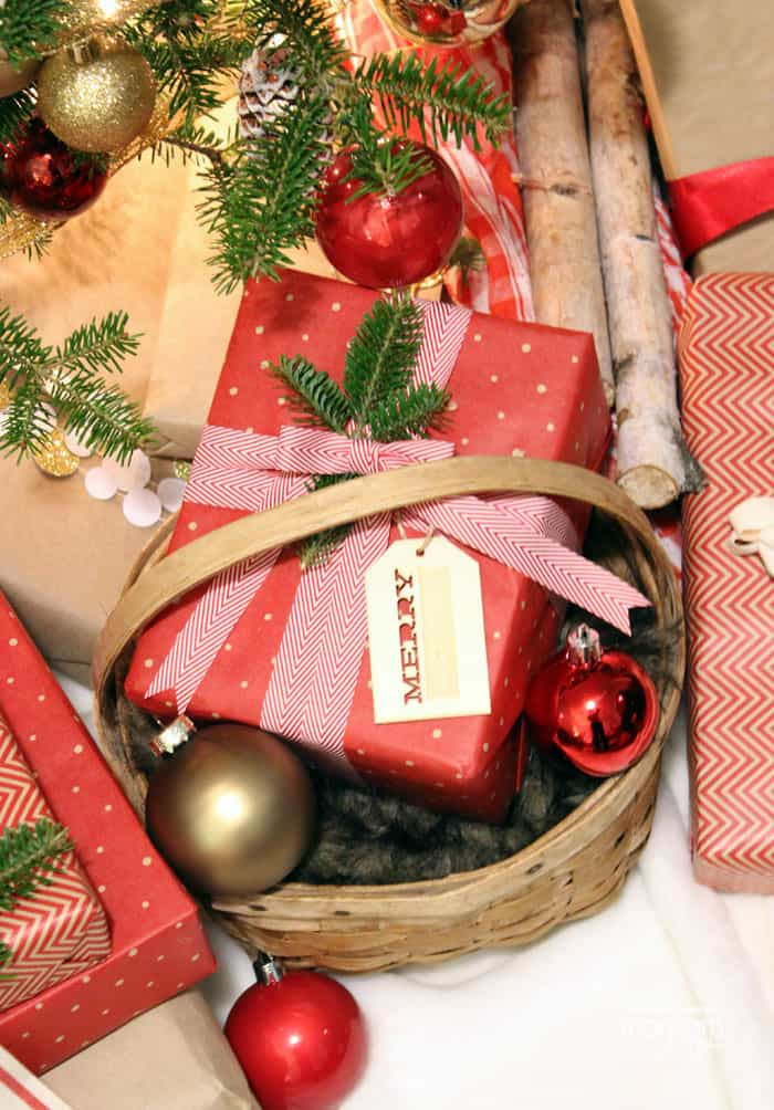 Christmas Gift Wrapping Ideas with Ribbon - FYNES DESIGNS | FYNES ...