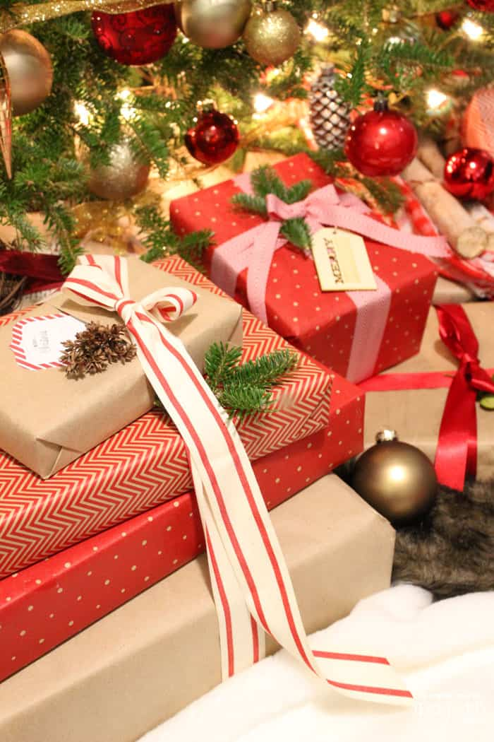 Christmas Gift Wrapping Ideas With Ribbon Fynes Designs