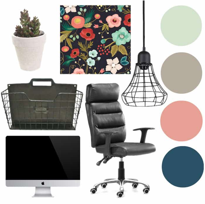 Finished office makeover Den Mini Home Office Makeover Plans Fynes Designs Home Office Makeover Ideas Fynes Designs Fynes Designs