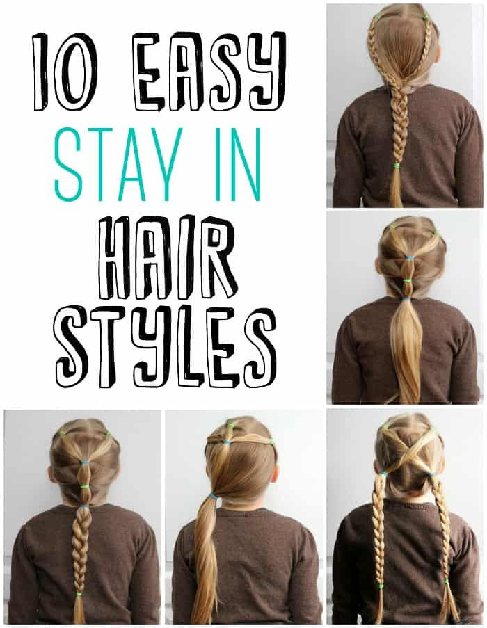 Miraculous 5 Minute School Day Hair Styles Fynes Designs Fynes Designs Short Hairstyles Gunalazisus