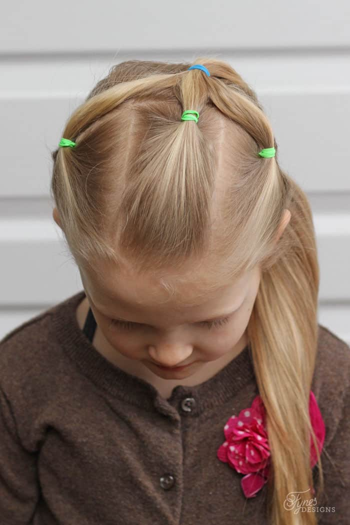 5 Minute School Day Hair Styles - FYNES DESIGNS | FYNES DESIGNS