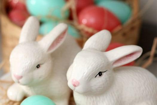 Sweet dollar store bunnies