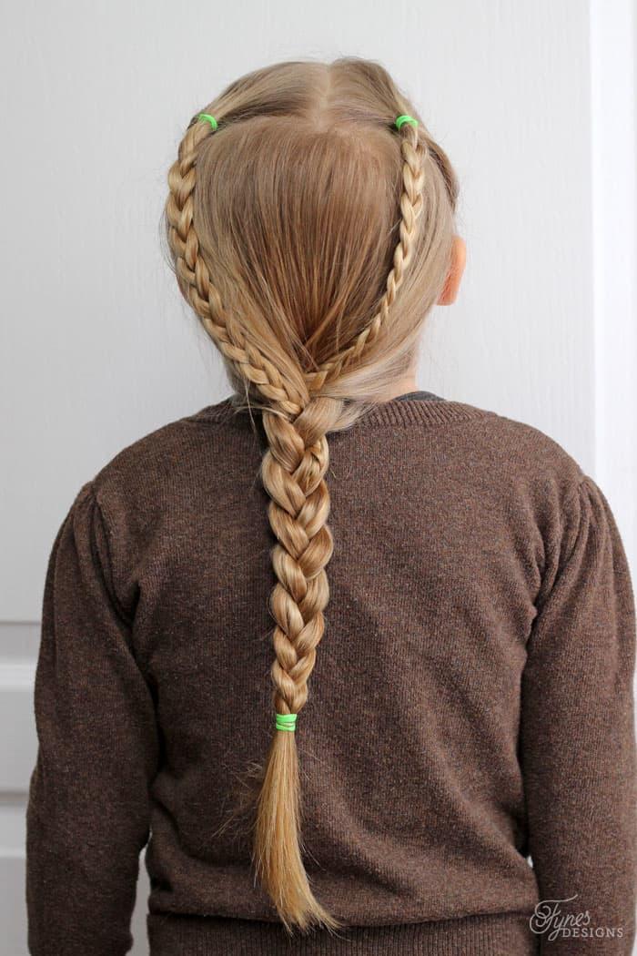 Prime 5 Minute School Day Hair Styles Fynes Designs Fynes Designs Hairstyles For Women Draintrainus