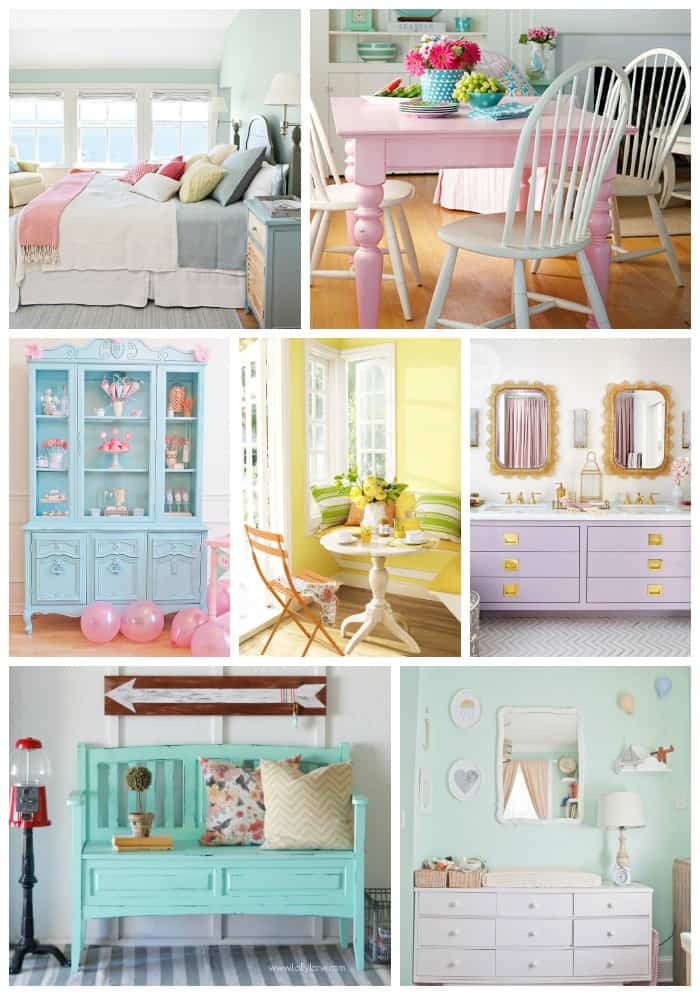 Pastel Paint Colors Mesmerizing Add Spring To Your Space 20 Fabulous Spring Paint Colors  Fynes . Design Decoration