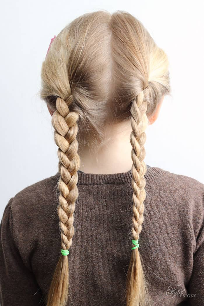 5 Minute School Day Hair Styles - FYNES DESIGNS | FYNES ...