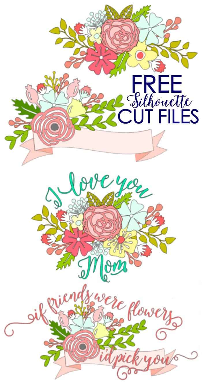 Gift Idea- Plant Pot Decals with Free Silhouette Cut File - FYNES ...