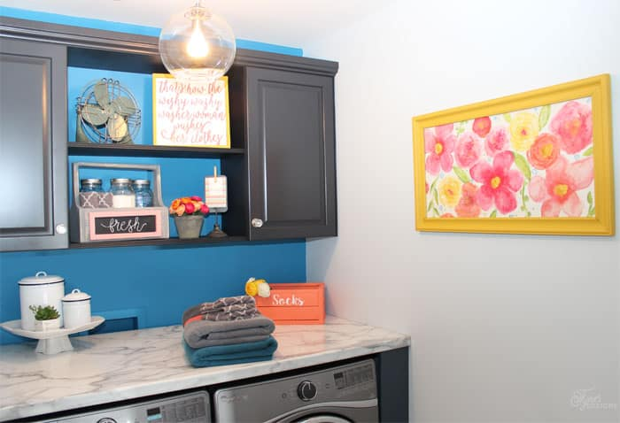 The Big Reveal Simple Laundry Room Ideas FYNES DESIGNS FYNES